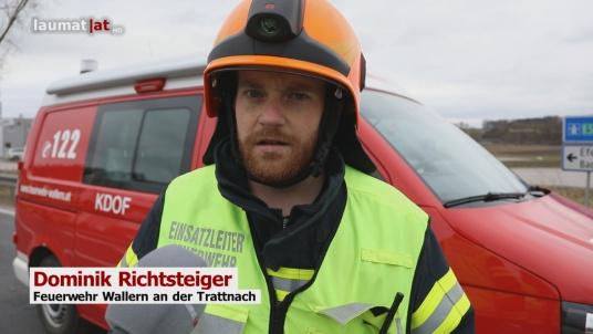 Dominik Richtsteiger, Feuerwehr Wallern an der Trattnach