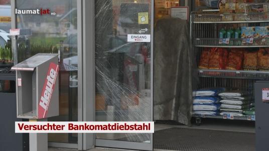 Versuchter Bankomatdiebstahl
