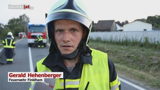 Gerald Hehenberger, Feuerwehr Finklham