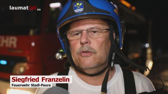 Siegfried Franzelin, Feuerwehr Stadl-Paura