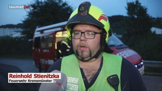 Reinhold Stienitzka, Feuerwehr Kremsmünster