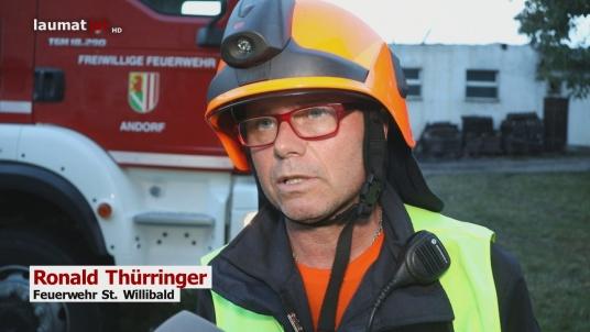 Roland Thürringer, Feuerwehr St. Willibald
