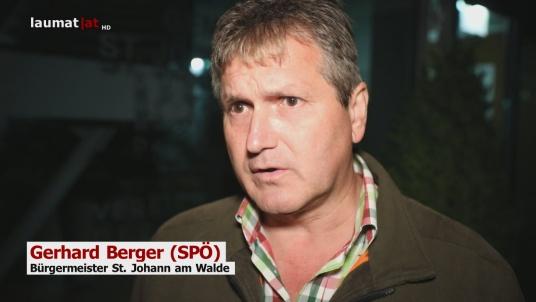 Gerhard Berger (SPÖ), Bürgermeister St. Johann am Walde
