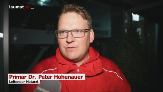 Primar Dr. Peter Hohenauer, Leitender Notarzt