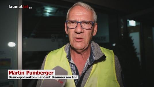 Martin Pumberger, Bezirkspolizeikommandant Braunau am Inn