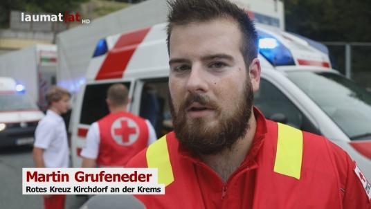 Martin Grufeneder, Rotes Kreuz Kirchdorf an der Krems