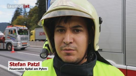 Stefan Patzl, Feuerwehr Spital am Pyhrn