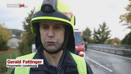 Gerald Fattinger, Feuerwehr Landshaag