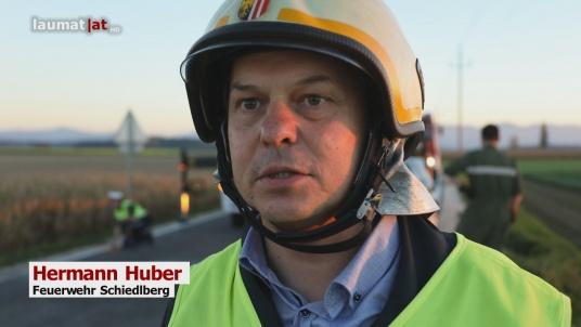 Hermann Huber, Feuerwehr Schiedlberg