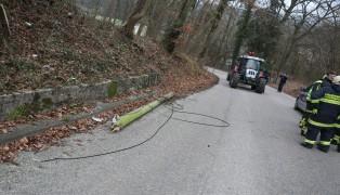 Gerissene Telefonleitung sorgte für Einsatz in Gunskirchen