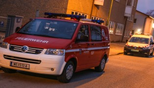 Geruchsbelästigung in Wels-Pernau löste Einsatz der Feuerwehr aus