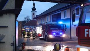 Brand in landwirtschaftlichem Gebäude in Pichl bei Wels