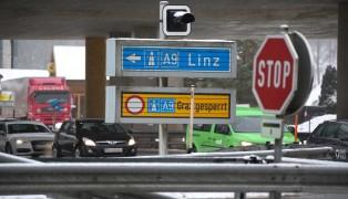 Verkehrschaos nach LKW-Kollision auf der Pyhrnautobahn