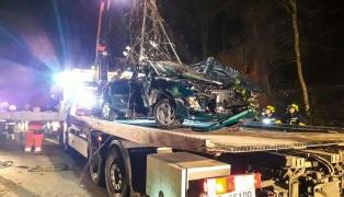 Beifahrer (61) nach schwerem Verkehrsunfall in Garsten im Krankenhaus verstorben
