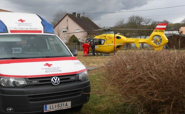 51-jähriger Mann in Neuhofen an der Krems aus der Krems gerettet