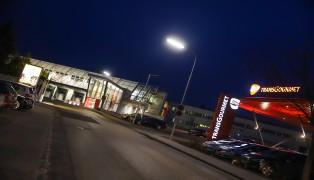 Brandmeldeauslösung durch kleineren Brand in Firmengebäude in Traun