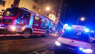 20 Hausbewohner bei Wohnungsbrand in Traun evakuiert
