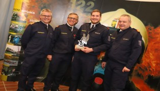 Christoph Greinecker als Feuerwehrmann des Jahres 2018 ausgezeichnet
