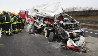 Tödlicher Verkehrsunfall auf Innkreisautobahn in Pichl bei Wels