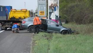 Unfall auf Welser Autobahn endet glimpflich