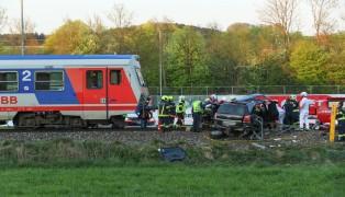 Tödlicher Unfall auf Bahnübergang in Aurolzmünster