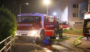Sieben Feuerwehren bei Wohnungsbrand mit Menschenrettung in Kirchdorf an der Krems im Einsatz