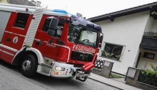 Küchenbrand in Wels-Puchberg vor Eintreffen der Feuerwehr bereits gelöscht