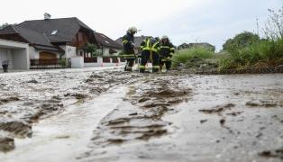 Gewitter sorgen lokal für Einsätze der Feuerwehren