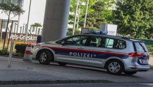 Großeinsatz der Polizei beim Klinikum Wels sorgte für Aufsehen