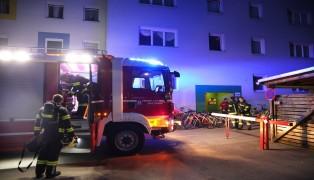Angebranntes Kochgut in einer Wohnung in Wels-Pernau führte zu Einsatz der Feuerwehr