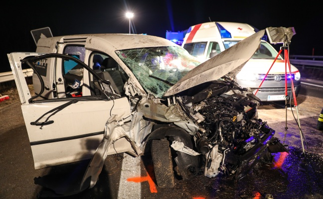 Deadly crash on the Pucking road in Welser
