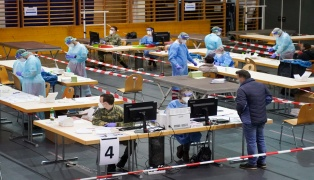 Start der Covid-19-Massentests in Oberösterreich