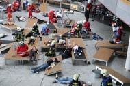 Internationale Katastrophenschutz�bung der Einsatzkr�fte in Wels | Fotograf: Matthias Lauber