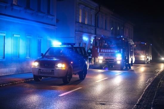 Thalheimer l�schte Fettbrand vorbildlich mit einer Decke und verhinderte somit Schlimmeres | Fotograf: Matthias Lauber
