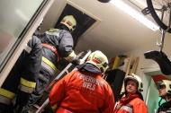 Brandverdacht im Jugendzentrum in Wels-Vogelweide | Fotograf: Matthias Lauber