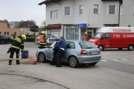 Einsatz nach Kreuzungscrash in Marchtrenk | Fotograf: Matthias Lauber