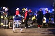 Schwerer Verkehrsunfall mit vier beteiligten Fahrzeugen in Schlatt   Fotograf: Matthias Lauber