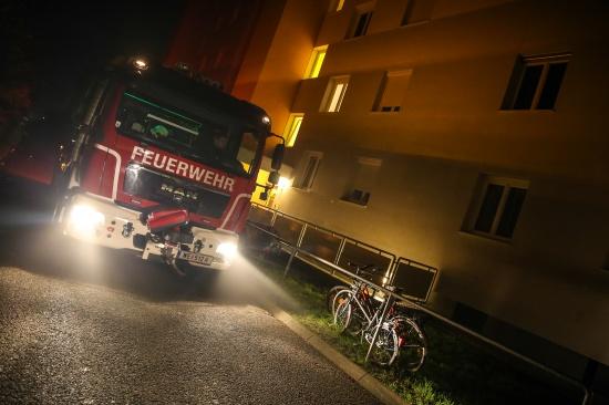 Technischer Defekt sorgte f�r Feuerwehreinsatz in Wels-Vogelweide | Fotograf: Matthias Lauber