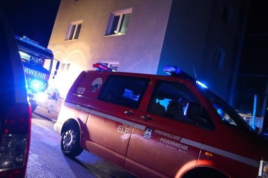 Waschmaschine sorgte f�r Brandverdacht und Feuerwehreinsatz | Fotograf: Matthias Lauber