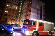Einsatz der Feuerwehr durch angebranntes Kochgut in einer Wohnung | Fotograf: Matthias Lauber