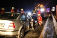 Verkehrsunfall auf der Westautobahn bei Vorchdorf endet glimpflich | Fotograf: Matthias Lauber