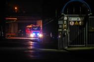 Heizungsdefekt l�ste Feuerwehreinsatz in einem Firmengel�nde aus | Fotograf: Matthias Lauber