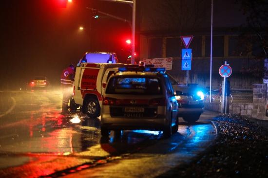 Notarzteinsatz nach schwerem Fahrradsturz in Wels-Vogelweide | Fotograf: Matthias Lauber