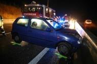 Verkehrsunfall auf der Innkreisautobahn in Steinhaus bei Wels fordert Leichtverletzten | Fotograf: Matthias Lauber