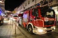 Brandverdacht in einem Juweliergesch�ft in der Welser Innenstadt | Fotograf: Matthias Lauber