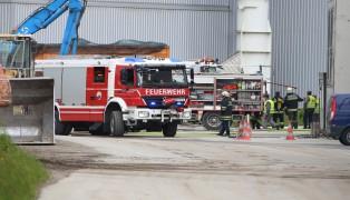 Brand nach kleiner Explosion in der Pelletierung eines Abfallverwertungsunternehmens