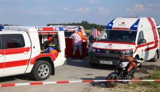 Mopedlenker bei schwerem Verkehrsunfall in Buchkirchen schwerst verletzt