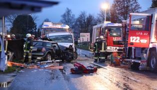 21-J�hrige bei schwerem Verkehrsunfall in Neumarkt im Hausruckkreis t�dlich verungl�ckt