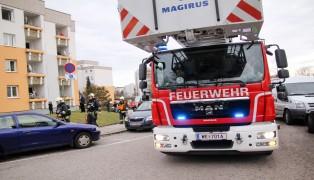 Ermittlungen nach mysteri�sem Brand in einer Wohnung in Wels-Vogelweide