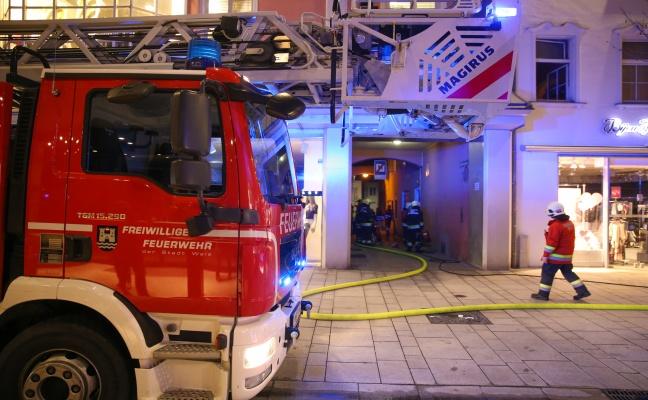 Brand einer Sauna in einer Wohnung rasch unter Kontrolle gebracht